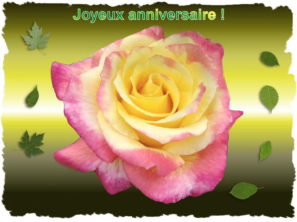 Joyeux et heureux anniversaire aurelia. bisous